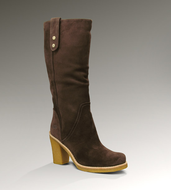 This boot goes from knee high to ankle boot