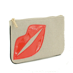 Lips coin purse